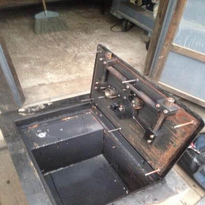 Вскрытие сейфа после пожара